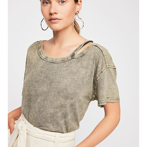 ba62789c44bc94 Free People Tops | We The Free Alex Cold Shoulder Top Xs | Poshmark